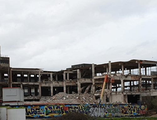 Royal Mail Sorting Office Demolition
